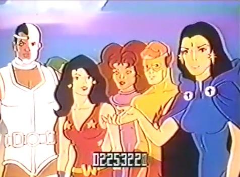 "The New Teen Titans ""Just Say No!"" Anti-Drug PSA (Hanna-Barbera; 1983)"