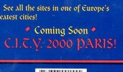 C.I.T.Y. 2000 Paris (Lost 1994(?) PC Game, Existence Unconfirmed)
