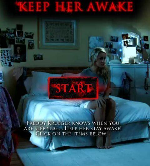 Keep Her Awake (A Nightmare on Elm Street game)