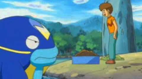 """Pokémon """"Battle of the Quaking Island! Barboach VS Whiscash!!"""" (2004 Unaired Episode)"""