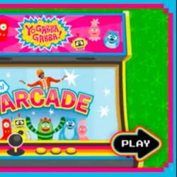 Yo Gabba Gabba! Mini Arcade (Lost unplayable flash game)