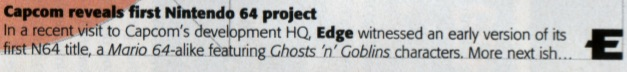 Ghosts 'n Goblins 64 (Cancelled N64 Game)
