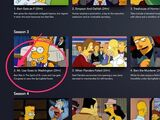 """The Simpsons- Episode 1 Season 3 """"Stark Raving Dad"""" (Found Banned Simpsons Episode aired 1991)"""