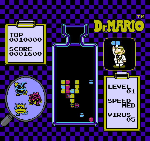 Dr. Mario (rare NES prototype versions)