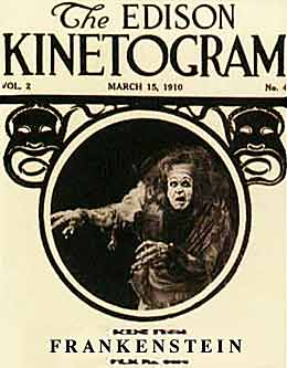 Frankenstein (1910 Silent Film Lost Master Copy)