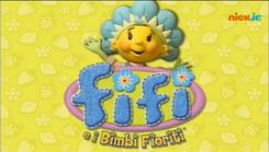Fifi and the Flowertots - logo (Italian)
