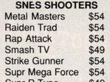 Rap Attack(lost SNES game)
