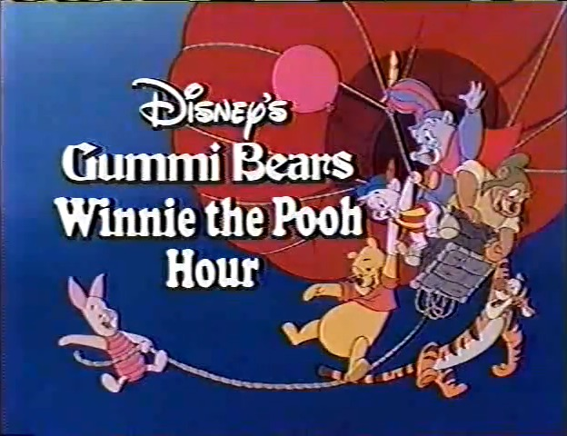Lost Disney's Gummi Bears/Winnie the Pooh Hour Episodes