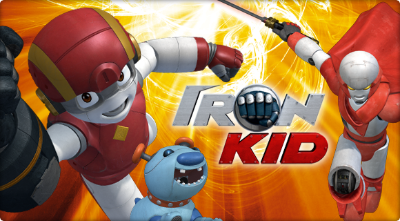 Iron Kid (Partially lost miscellaneous media from Spanish Korean children's animated TV series, 2006-2007)