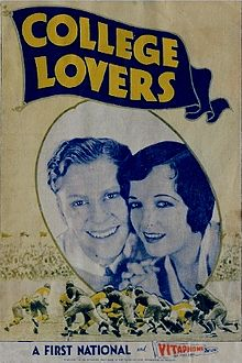 College Lovers (Lost 1930 Film)