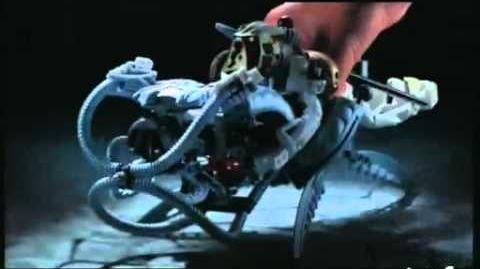 Lego Takanuva and Makuta Commercial (Found 2003 English version)