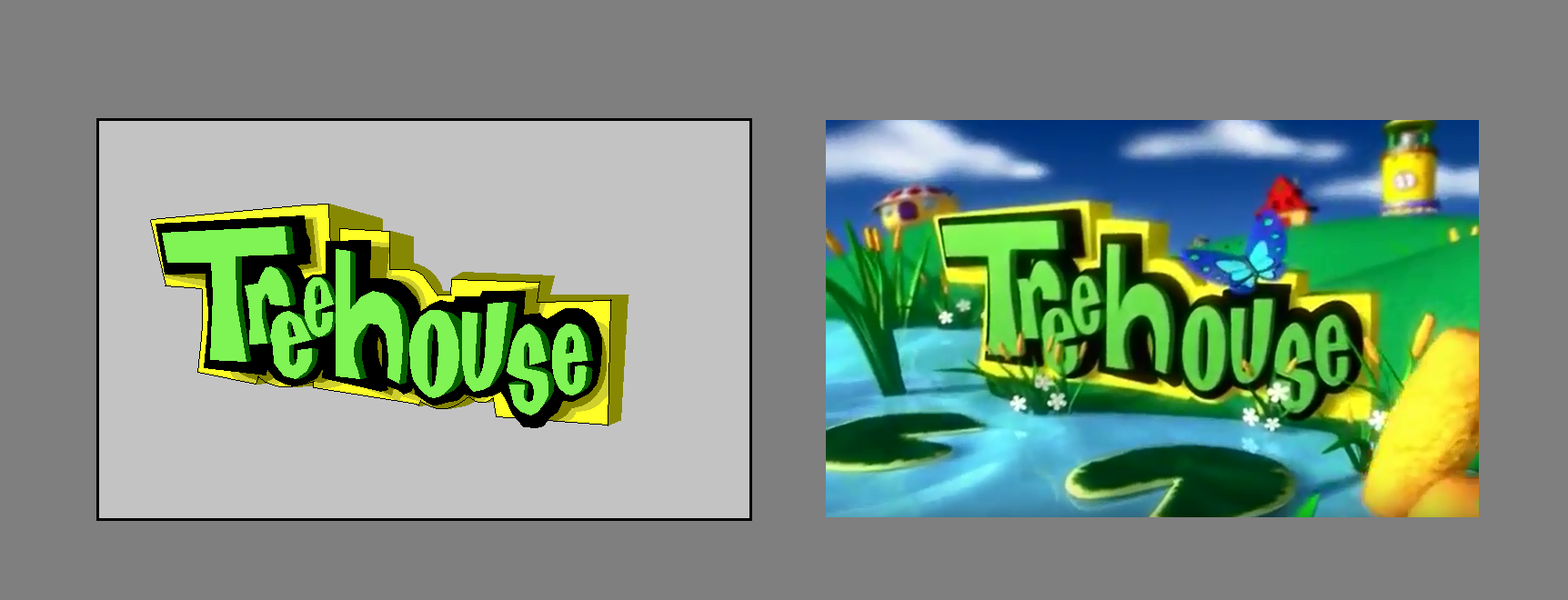 Lost Treehouse TV Idents