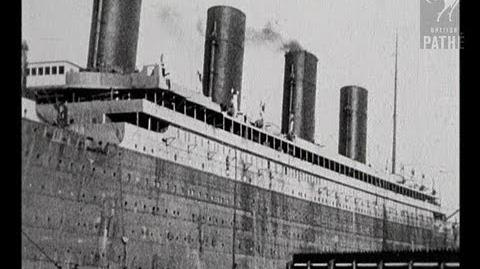 Titanic Missing Footage (1912; Existence Unconfirmed)