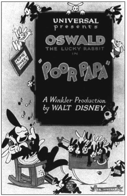 Poor Papa (1927 Oswald the Lucky Rabbit Short)
