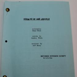 George of the Jungle (Found 1996 Script)