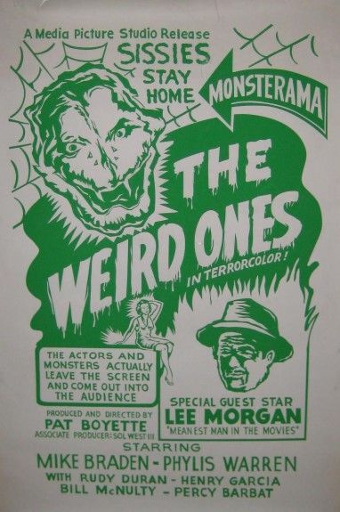 The Weird Ones (Lost 1962 Pat Boyette Film)