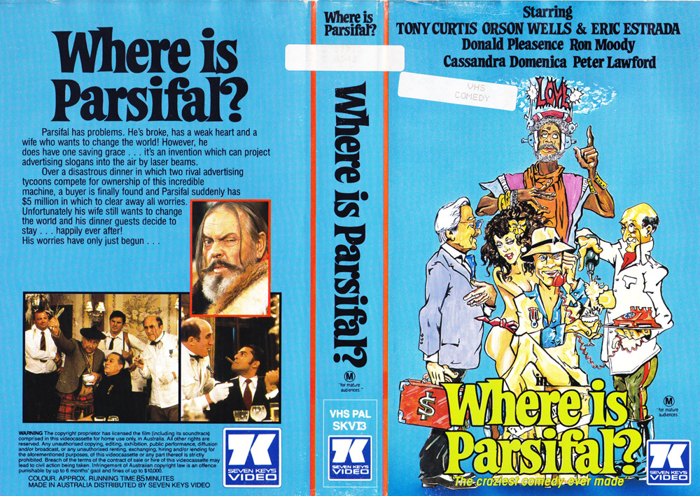 Dycaite/Where is Parsifal? Right here!