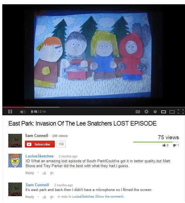 East Park (Found Web Cartoon)