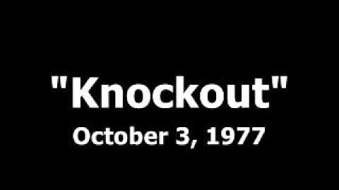 Knockout (Lost 1977 Game Show)