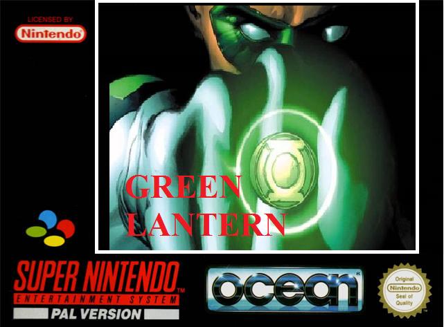 Green Lantern (Cancelled SNES Game: 1994)