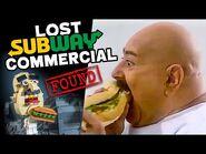 Lost Subway Commercial Found- Absurd Mysteries w- Julius von Brunk