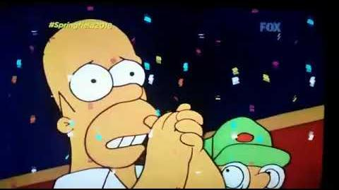 "Fox Latin America "" Springfield 2018 "" (Found Ad)"