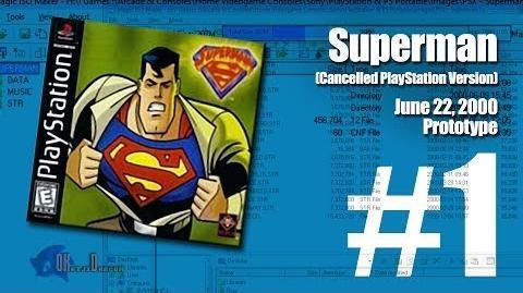 (Part 1) Superman -Unreleased PlayStation version- - June 22, 2000 Prototype