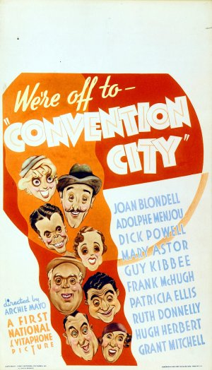 Convention City (Lost 1933 Comedy Film)