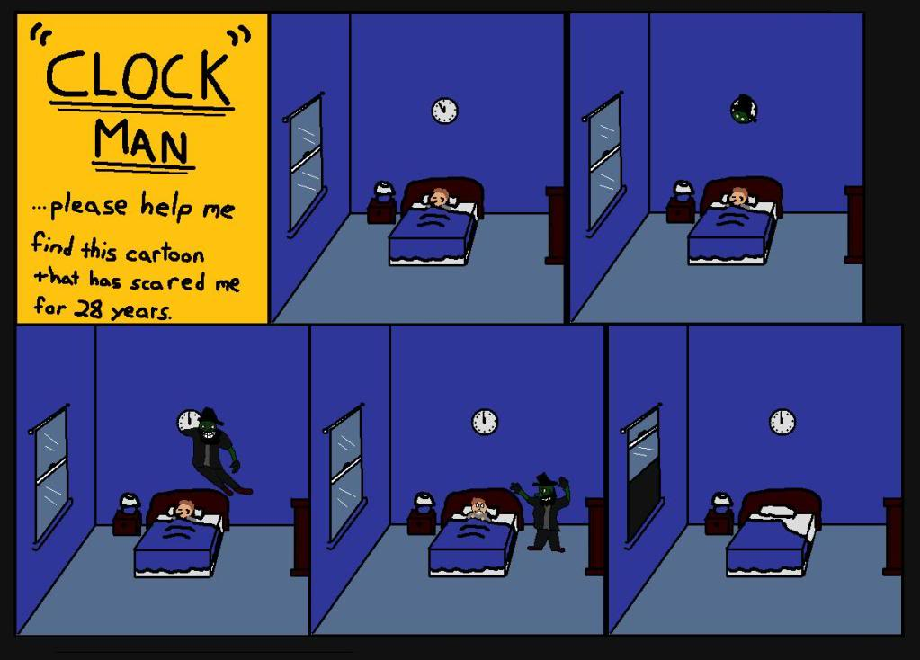 "Pinwheel ""Clock Man"" Short (Found 1970s/1980s Stop-Motion Animation)"
