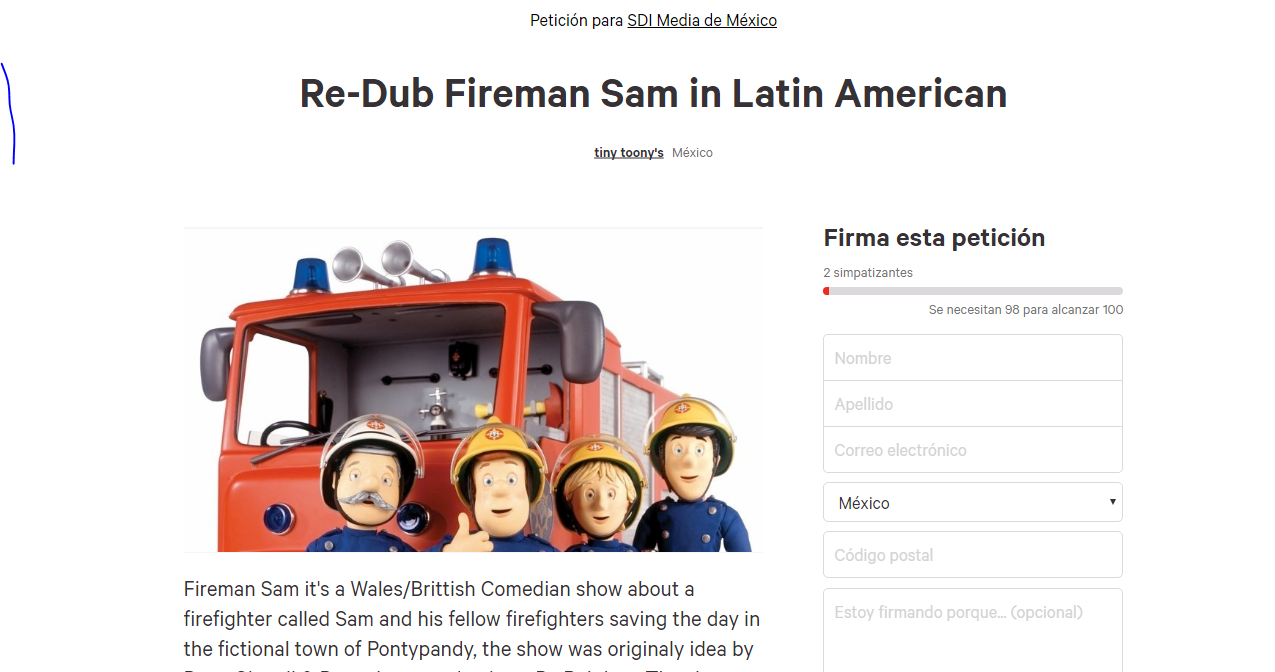 Fireman Sam (Latin American Dub, PARTIALLY FOUND)