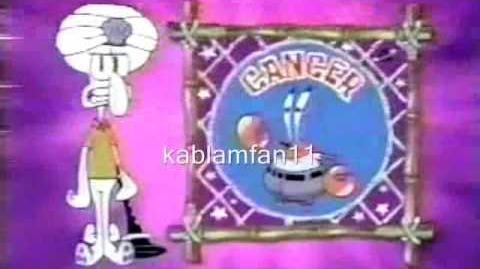 Astrology with Squidward (Found 2000-2001 Shorts and English Dubs)