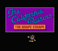 California Raisins Game Screen
