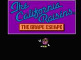 The California Raisins: The Grape Escape (Found Unreleased 1990 NES Game)