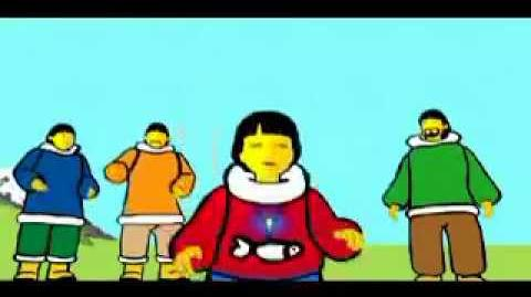 Inuk (rare cartoon)
