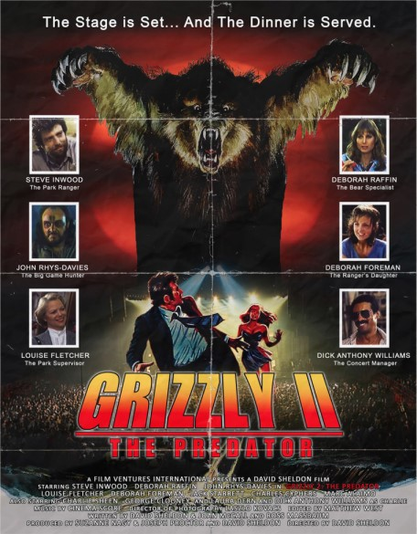 Grizzly II (rare/previously lost film/lost footage)