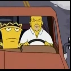 Aqua Teen Hunger Force Simpsons movie Sneak peek (Adult swim)