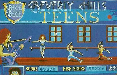 Beverly Hills Teens (Cancelled 1990 Sports Game)