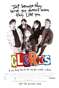 Clerks (1994 Comedy Film; Missing Scenes)