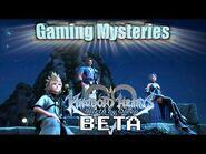 Gaming Mysteries- Kingdom Hearts Birth By Sleep Beta (PS2 - PSP)
