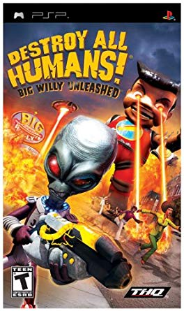 Destroy All Humans! Big Willy Unleashed (cancelled PSP/PS2 ports)