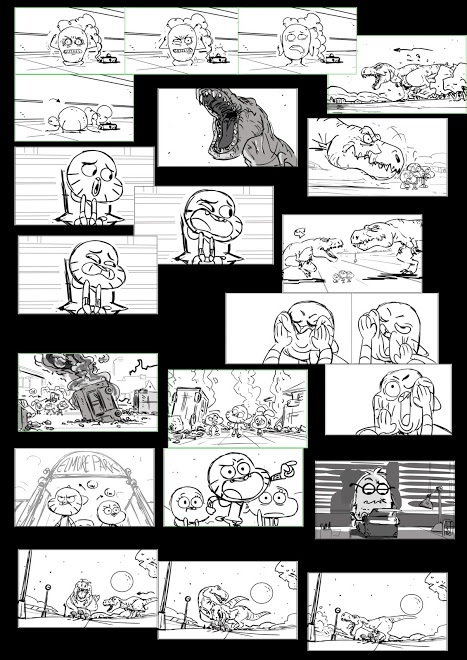 """The Amazing World Of Gumball Episode """"The Rex"""" (Scrapped episode)"""