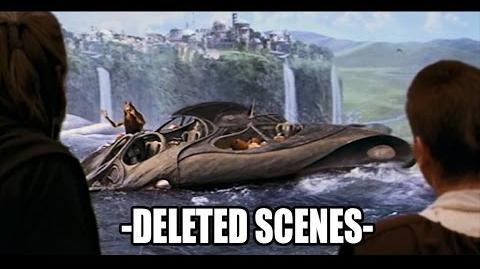 Star Wars The Phantom Menace - Deleted Scenes 1080p HD