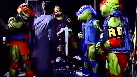 Teenage Mutant Ninja Turtles Coming Out of Their Shells Tour (Missing Material)