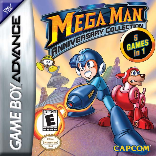 Mega Man Anniversary Collection (cancelled 2003 GBA compilation)