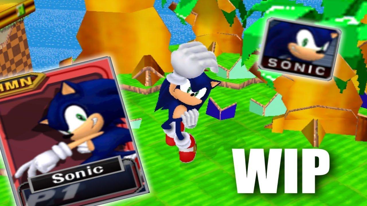 Super Smash Bros Melee Sonic Mod video showcase (Lost Video)