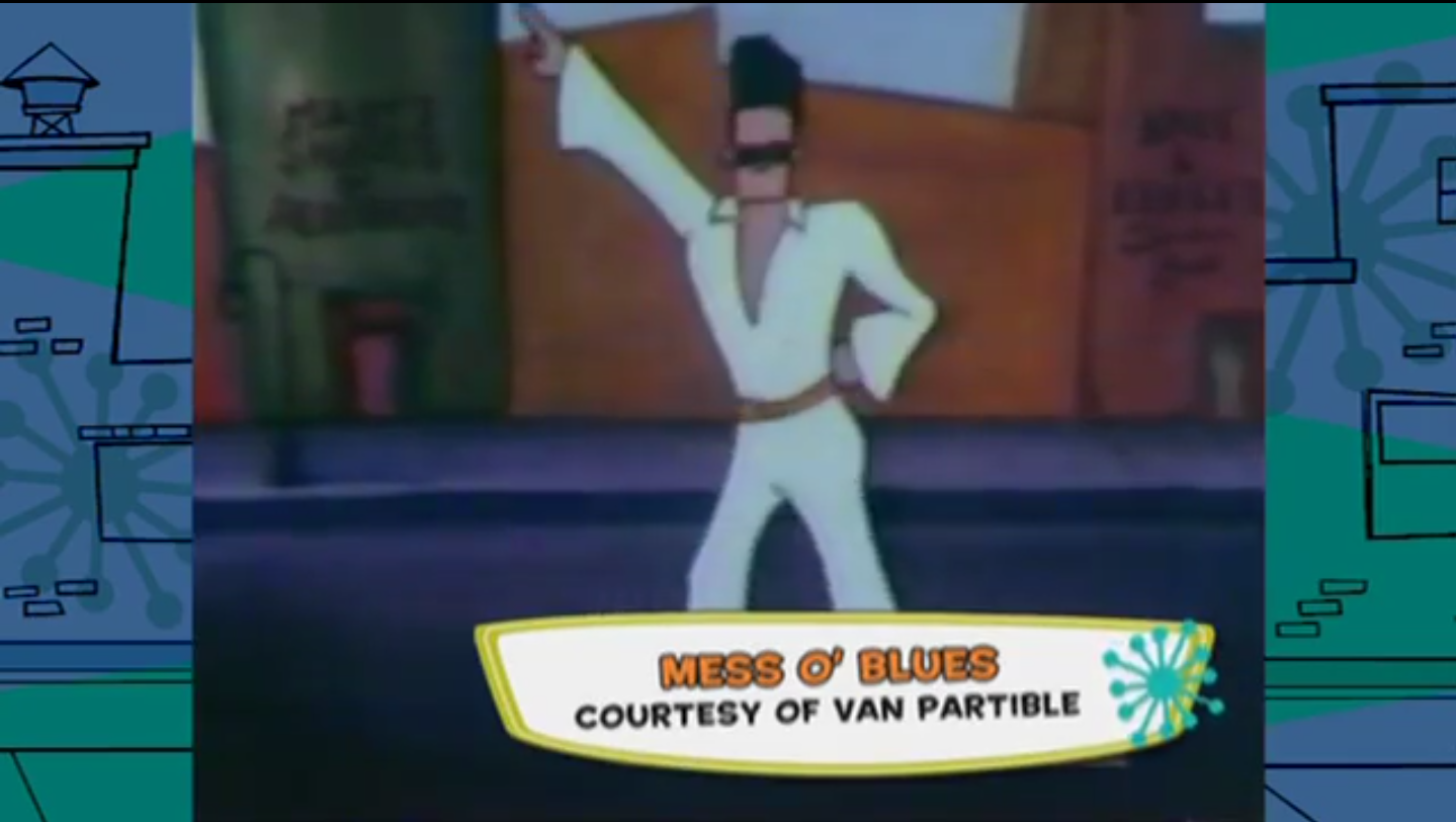 Mess O' Blues (Unreleased 1993 Johnny Bravo Prototype Short)