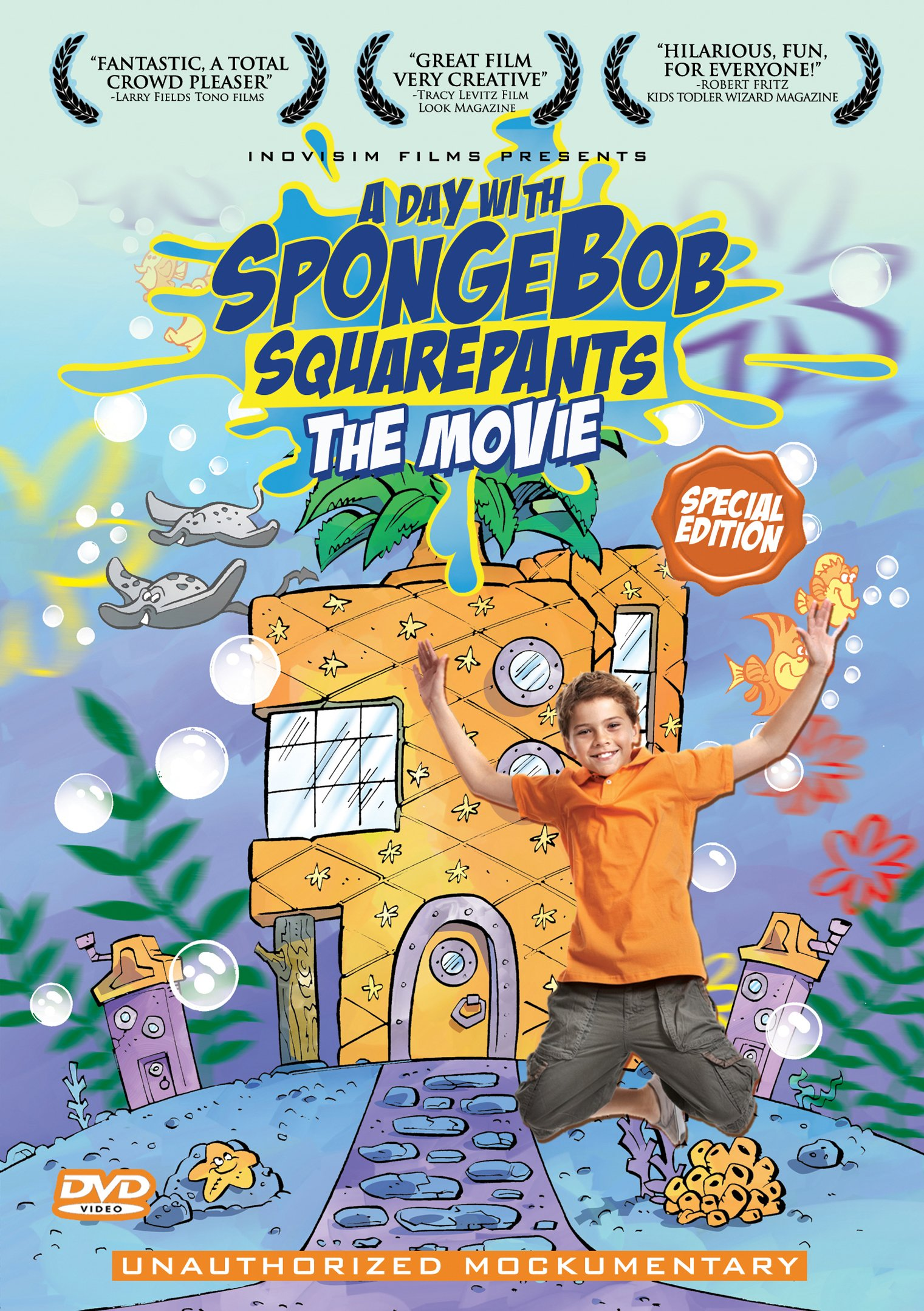 A Day With SpongeBob SquarePants: The Movie (2011 Rare Direct-To-DVD Movie)