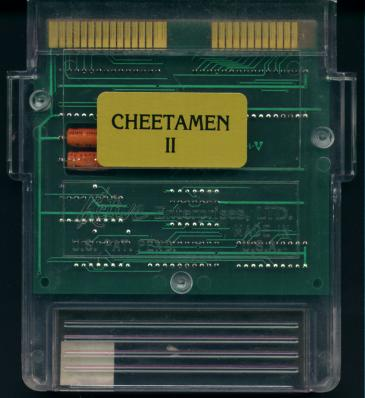 Cheetahmen II (original 1993 pre-patched unreleased version)