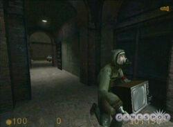 Get Your Free TVs! (Partially found Half-Life 2 tech demo)