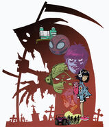 Gorillaz celebrity harvest
